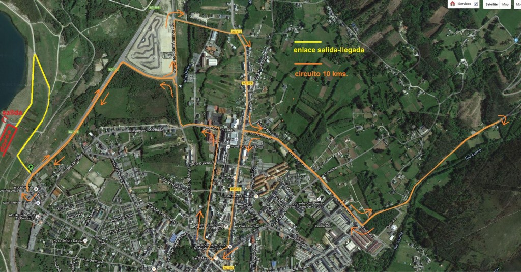 circuito maratón 42 kms.